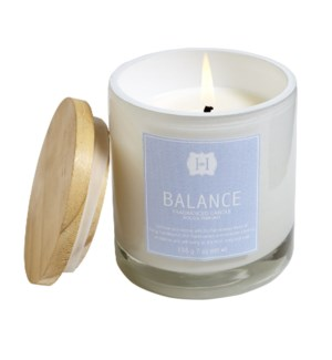 BALANCE 7oz GLASS CANDLE CTN. 6