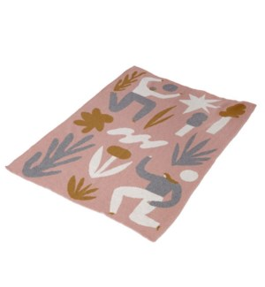 Eco Baby Kindred Throw by Viscaya Wagner Pacific/Gris