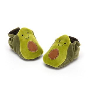 Amuseables Avocado Booties