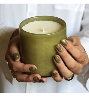 15.5oz Sage & Walnut Signature Candle - Library