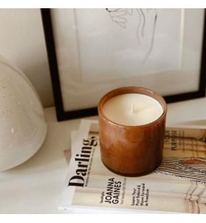 15.5oz Amber Black Vanilla Signature Candle - Foyer