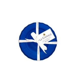 APPETIZER PLATE SET 4 TERRA DARK BLUE