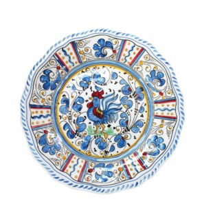 "11"" DINNER PLATE (ROOSTER BLUE)"