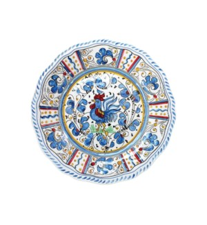 "9"" SALAD PLATE (ROOSTER BLUE)"