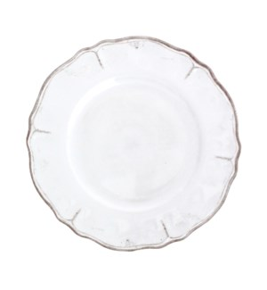"11"" DINNER PLATE RUSTICA ANTIQUE WHITE"