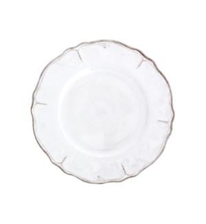"9"" SALAD PLATE RUSTICA ANTIQUE WHITE"