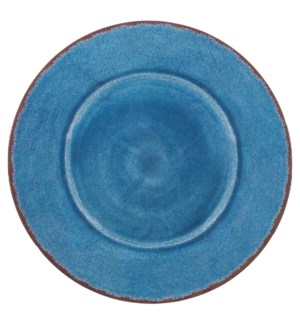 "ANTIQUA 16"" OVAL PLATTER BLUE"
