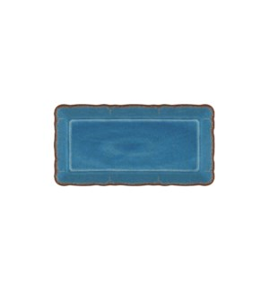 ANTIQUA BLUE BISCUIT TRAY