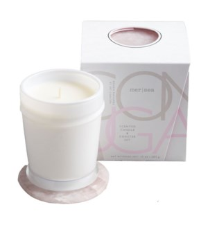 10 oz. boxed candle w/coaster - Coconut Sugar TESTER