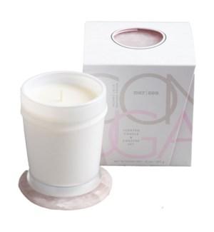 10 oz. boxed candle w/coaster - Coconut Sugar