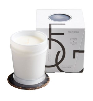 10 oz. boxed candle w/coaster - Fog  TESTER