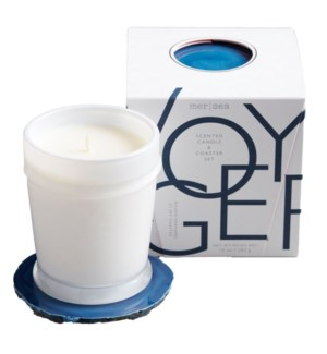 10 oz. boxed candle w/coaster - Voyager
