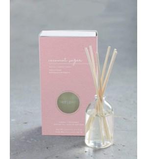 100 mL glass scent diffuser - Coconut Sugar