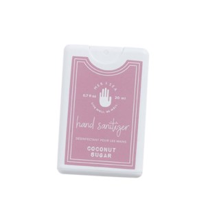 0.7 oz. Pocket Hand Sanitizer-Coconut Sugar