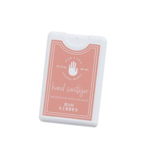 0.7 oz. Pocket Hand Sanitizer-Sun Kissed