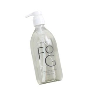 16 oz. large glass hand soap pump - Fog