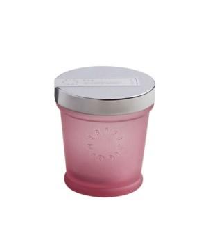 4 oz. color glass petite candle - Coconut Sugar