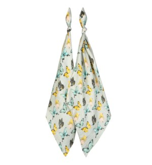 Bamboo Burp Cloth Butterfly 07/31/2021