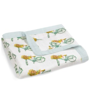 Bamboo Big Lovey Floral Bicycle