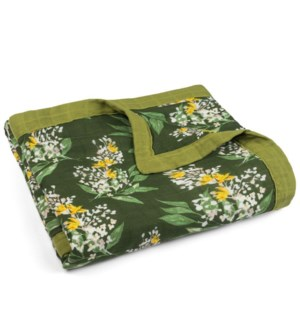 Bamboo Big Lovey Green Floral