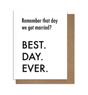 BDE Married Greeting Card