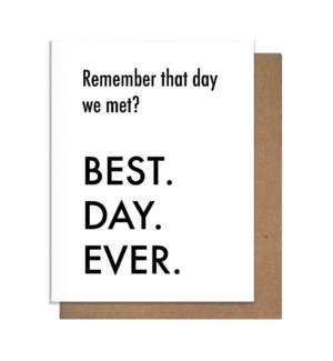 BDE Met Greeting Card