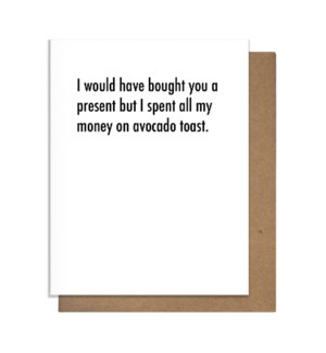 Avo Toast Greeting Card