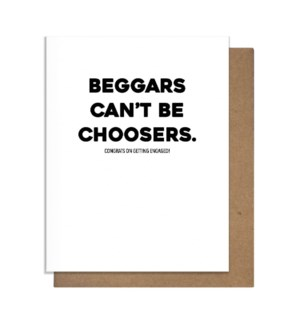 Beggars Greeting Card