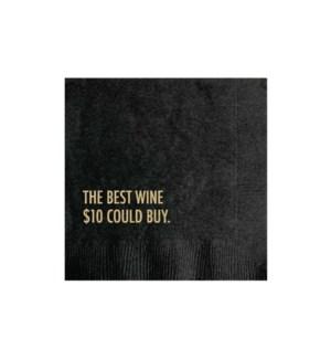 Best Wine napkin