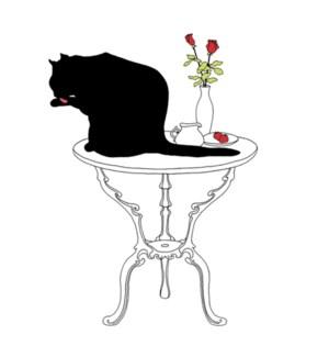 $BEV- BLACK CAT BATH