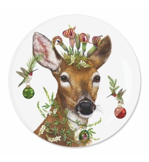 "7"" APPETIZER PLATE - CHRISTMAS PRINCESS"