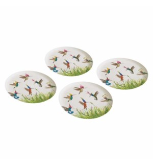 BAMBOO PLATE SET (4)-MEADOW BUZZ