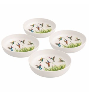 BAMBOO BOWL SET (4)-MEADOW BUZZ