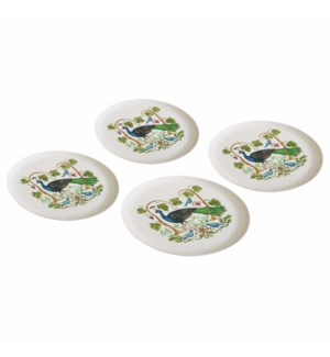 BAMBOO PLATE SET (4)-BODRUM