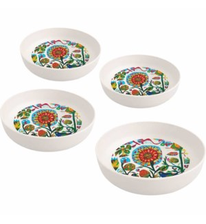 BAMBOO BOWL SET (4)-QUITO