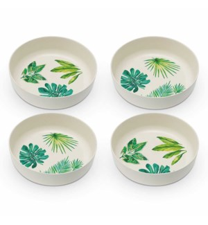 BAMBOO BOWL SET (4)-ST. TROPEZ (THE JUNGLE)
