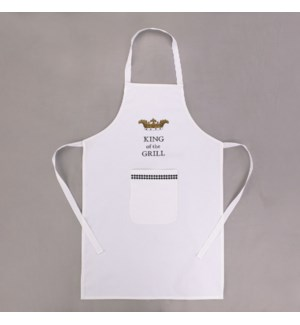 """KING OF THE GRILL"" APRON"