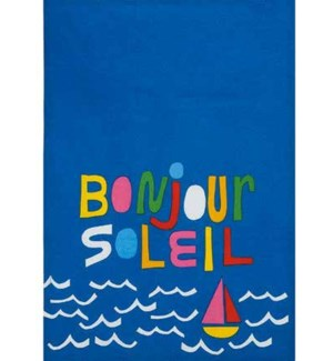 Bonjour Printed Kitchen Towel