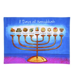 8 DAYS OF HANUKKAH KT 18X26""