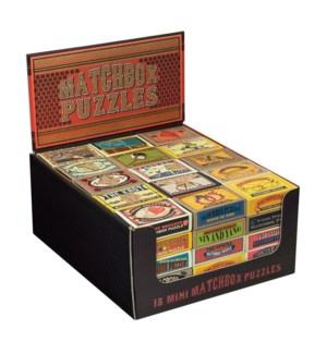 Matchbox Puzzles Display