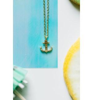 Anchor Necklace - Silver