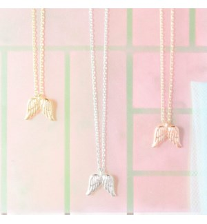 Angel Necklace - Silver