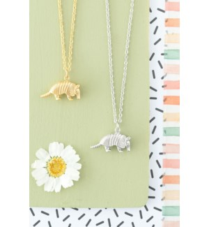 Armadillo Necklace - Gold