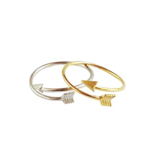 Arrow Wrap Ring - Gold