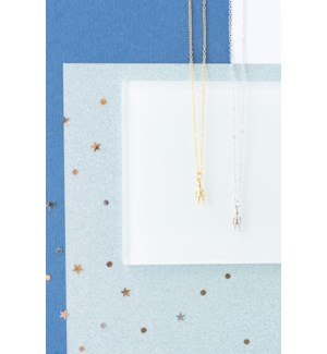 Astronauts Necklace - Gold