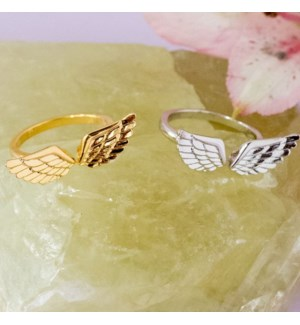 Angel Wing Ring - Gold