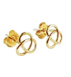 Celtic Knot Post - Gold