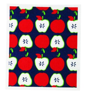 Apples Blu Cloth Set 2
