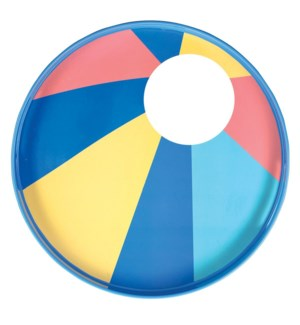 Beach Ball 15 inch Round Tray