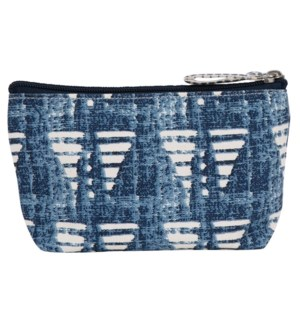 Bahati Blue Pouch Small